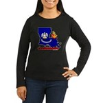 ILY Louisiana Women's Long Sleeve Dark T-Shirt