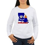 ILY Louisiana Women's Long Sleeve T-Shirt