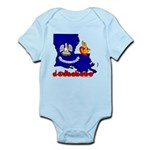 ILY Louisiana Infant Bodysuit