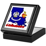 ILY Louisiana Keepsake Box