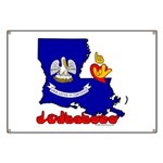 ILY Louisiana Banner