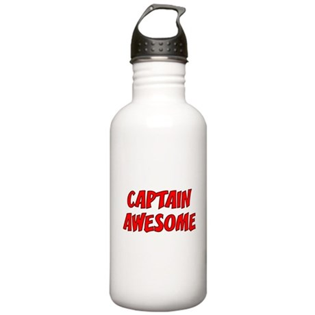 Captain Awesome Stainless Water Bottle 1.0L