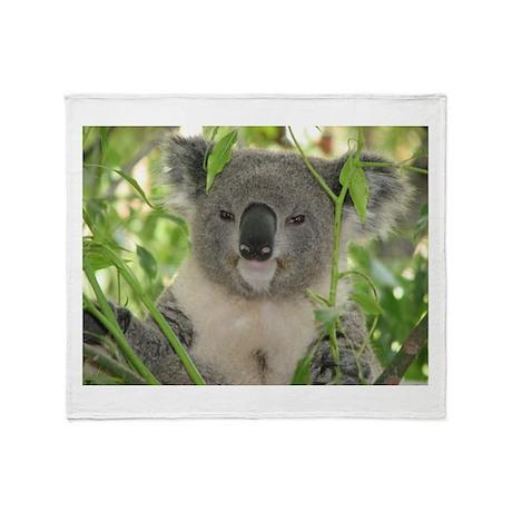 Helaine's Koala Bear Throw Blanket