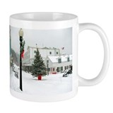 Mackinac Island Christmas Mug