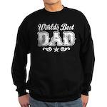 World's Best Dad Sweatshirt (dark)