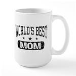 World's Best Mom Large Mug