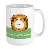 Guinea pigs make the world a little nicer Lg Mug