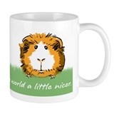 Guinea pigs make the world a little nicer Small Mugs