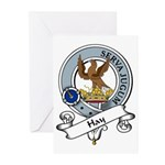 Hay Clan Badge Greeting Cards (Pk of 10)