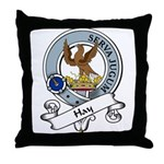 Hay Clan Badge Throw Pillow