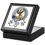 Hay Clan Badge Keepsake Box