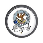 Hay Clan Badge Wall Clock