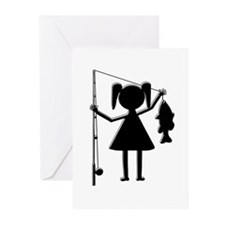 REELGIRL Greeting Cards (Pk of 20)