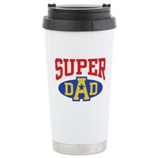 Super Dad Ceramic Travel Mug
