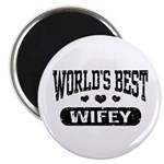 World's Best Wifey Magnet