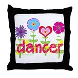 The Dancers' Garden by DanceShirts.com Throw Pillo