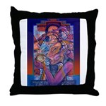 Offering to Quetzalcoatl Throw Pillow