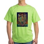 Offering to Quetzalcoatl Green T-Shirt