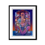 Offering to Quetzalcoatl Framed Panel Print
