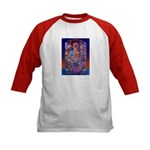 Offering to Quetzalcoatl Kids Baseball Jersey
