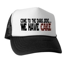 Dark Side of Cake Trucker Hat