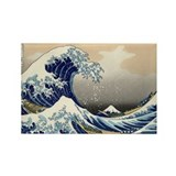 Katsushika Hokusai Rectangle Magnet (100 pack)