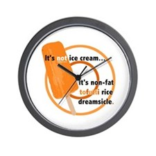 Tofutti Rice Dreamsicle Wall Clock