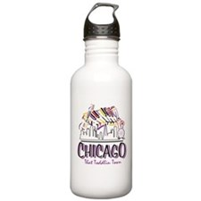 Chicago That Toddlin Town Sports Water Bottle