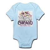 Chicago That Toddlin Town Infant Bodysuit