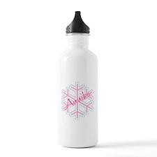 Annika Snowflake Personalized Sports Water Bottle