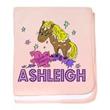 I Dream Of Ponies Ashleigh baby blanket