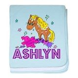 I Dream Of Ponies Ashlyn baby blanket