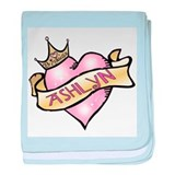 Sweetheart Ashlyn Custom Prin baby blanket
