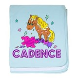 I Dream Of Ponies Cadence baby blanket