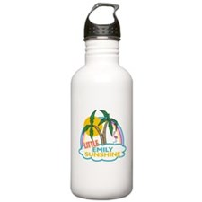 Island Girl Emily Personalize Sports Water Bottle