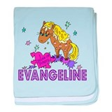 I Dream Of Ponies Evangeline baby blanket