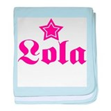 Star Lola! baby blanket