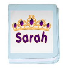 Princess Tiara Sarah Personal baby blanket