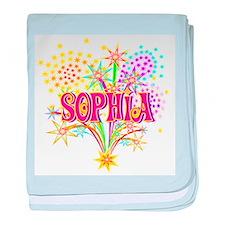 Sparkle Celebration Sophia baby blanket