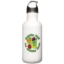 Healthy Food For Healthy Teet Water Bottle