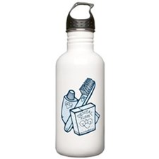 Toothbrush Toothpaste Floss Water Bottle