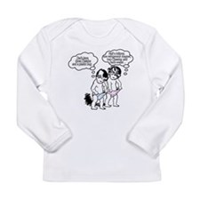 Poor Dad! Long Sleeve Infant T-Shirt