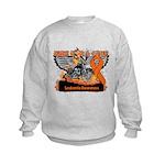 Leukemia Ride For a Cure Kids Sweatshirt