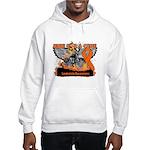 Leukemia Ride For a Cure Hooded Sweatshirt