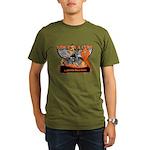Leukemia Ride For a Cure Organic Men's T-Shirt (da
