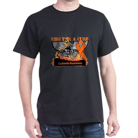 Leukemia Ride For a Cure Dark T-Shirt