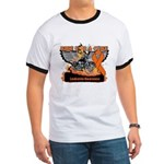 Leukemia Ride For a Cure Ringer T