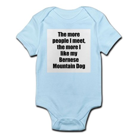 Bernese Mountain Dog Infant Creeper