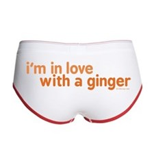 I'm in Love with a Ginger Women's Boy Brief