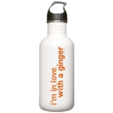 I'm in Love with a Ginger Stainless Water Bottle 1